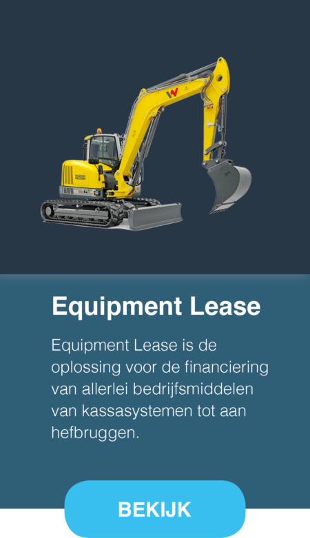 Equipment lease Twente